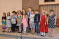 OLM Grade 3 choir in full voice. TONY PEARSON Special to This Week