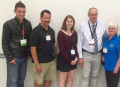 Bancroft delegates Sam Riedl and councillor Bill Kilpatrick, and Hastings Highlands delegates Lexus Scott and mayor Vivian Bloom, with Hastings county warden Rick Phillips at the Summit of Rural Youth last month.  Each was hopeful for the future of young people in rural communities.