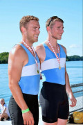 Nick van der Woude and partner Michael Bushuk finished first at the 134th Annual Roya Canadian Henley Regatta in St. Catharines. Van der Woude said he takes after his dad when it comes to rowing. His favourite part about rowing is the finer details and techniques behind the required in the sport. While he loves rowing, van der Woude wants to become a police officer once he graduates from Laurentian University.